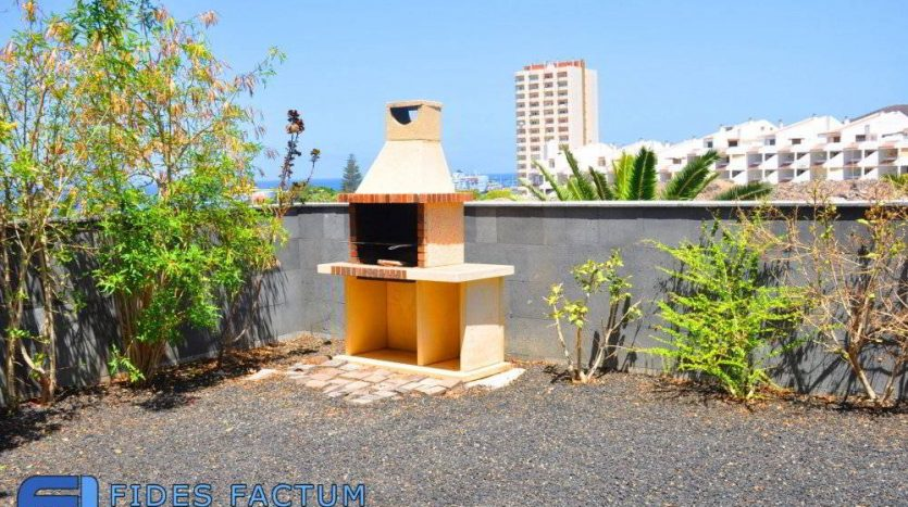 Townhouse with sea view in a prestigious complex El Rincon in Los Cristianos, Tenerife