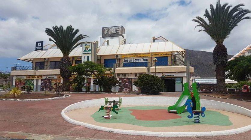 The premise in Los Cristianos, Arona, Tenerife