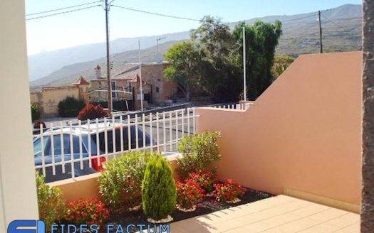 Townhouse in the complex Silvia in El Roque, San Miguel de Abona, Tenerife