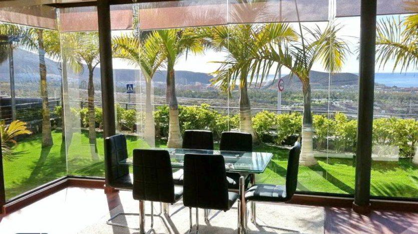 Villa Lux in the complex Caldera del Rey in Playa de Las Americas, Arona, Tenerife