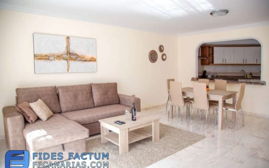 Apartment in the complex Gigansol del Mar in Los Gigantes, Santiago del Teide, Tenerife