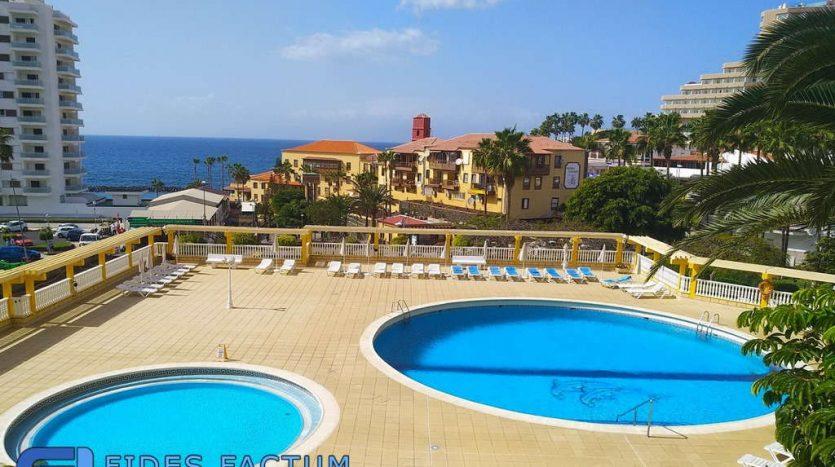 Apartment in the complex Copacabana in Playa de las Americas, Arona, Tenerife