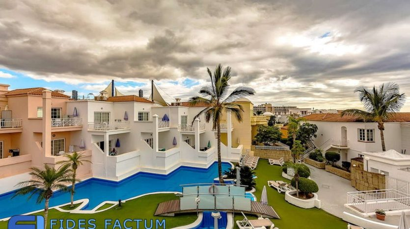 Apartment in the complex Villas Fañabe in Costa Adeje, Adeje, Tenerife