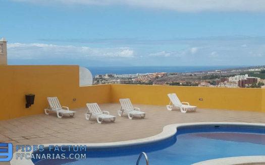 Apartment in the complex El Sol in Torviscas Alto,, Adeje, Tenerife