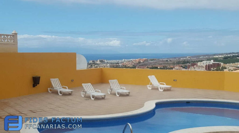 Apartment in the complex El Sol in Torviscas Alto,, Adeje, Tenerife