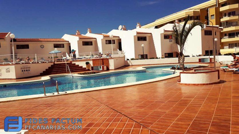 Apartment in the complex Ocean Park in San Eugenio, Adeje, Tenerife