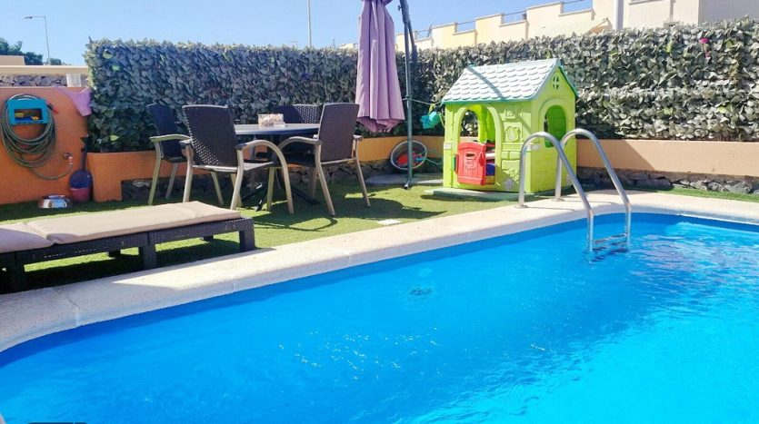 Townhouse in the complex Los Girasoles in El Madroñal, Adeje, Tenerife