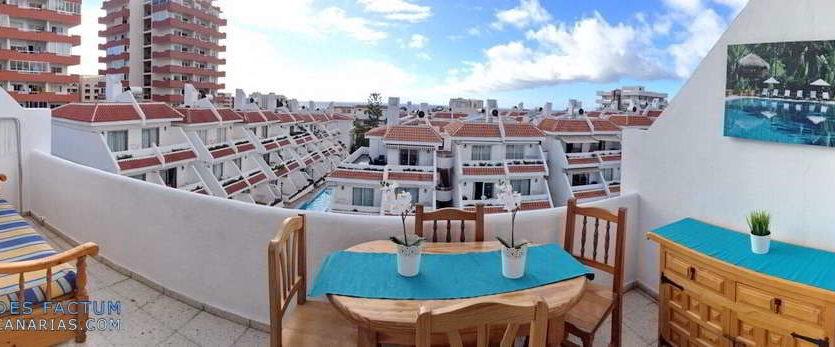 Apartment in the complex Las Floritas in Playa de las Americas, Arona, Tenerife