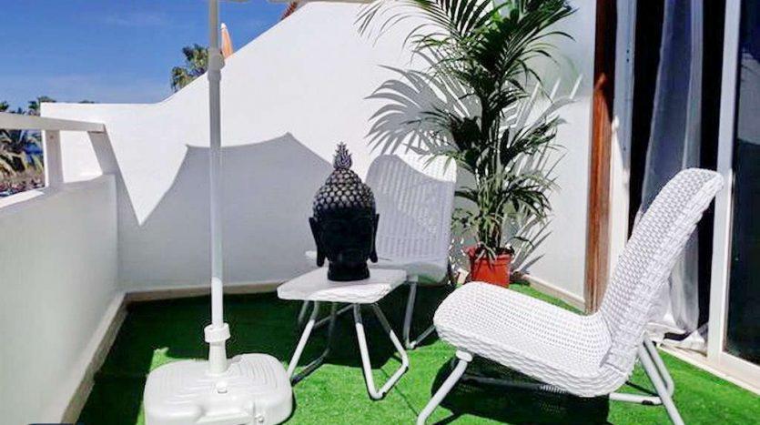 Studio in the complex Malibu Park in Torviscas Alto, Adeje, Tenerife