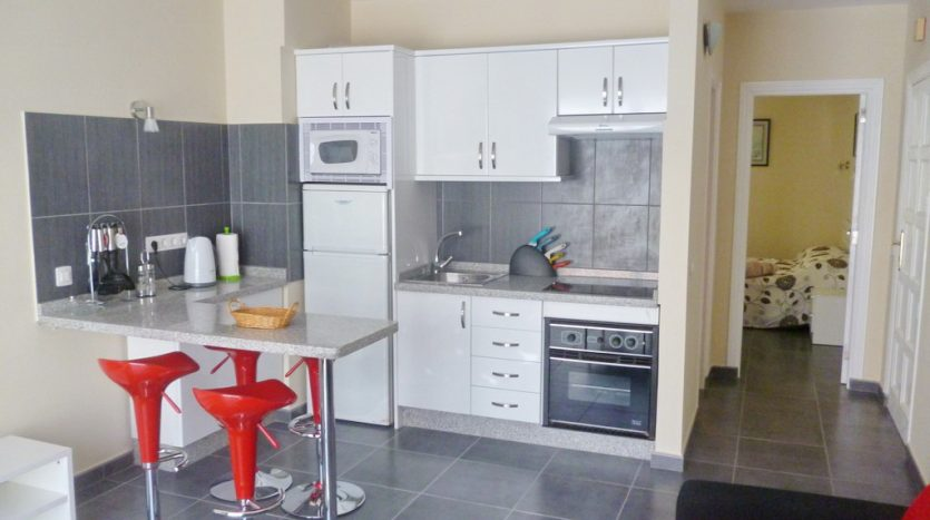 Apartment in the complex Las Floritas in Playa de las Americas, Arona, Tenerife