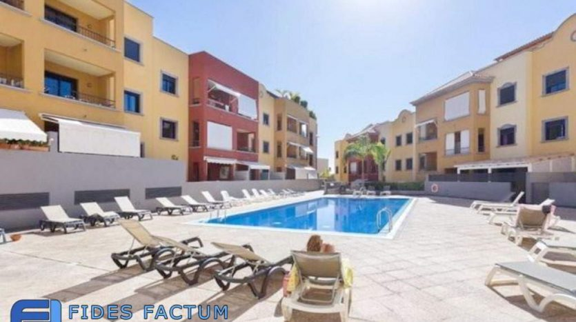 Apartment in the complex El Torreón in Adeje center, Tenerife