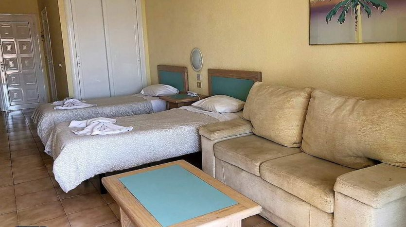 Studio in the complex Castle Harbour in Los Cristianos, Arona, Tenerife