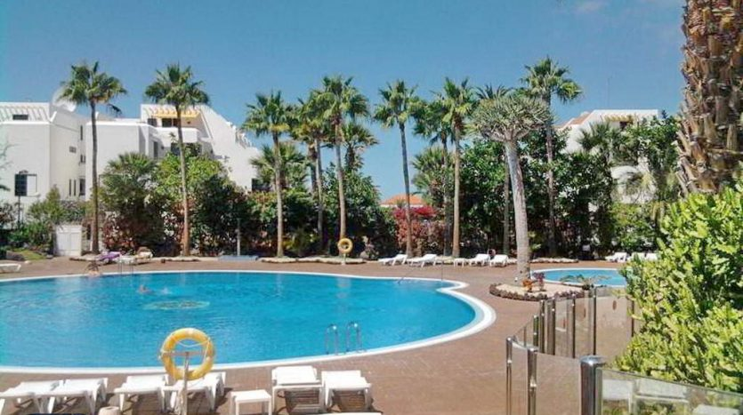 Apartment in the complex El Dorado in Playa de las Americas, Arona, Tenerife