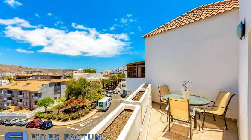 Apartment in the complex Colina 2 in Los Cristianos, Arona, Tenerife