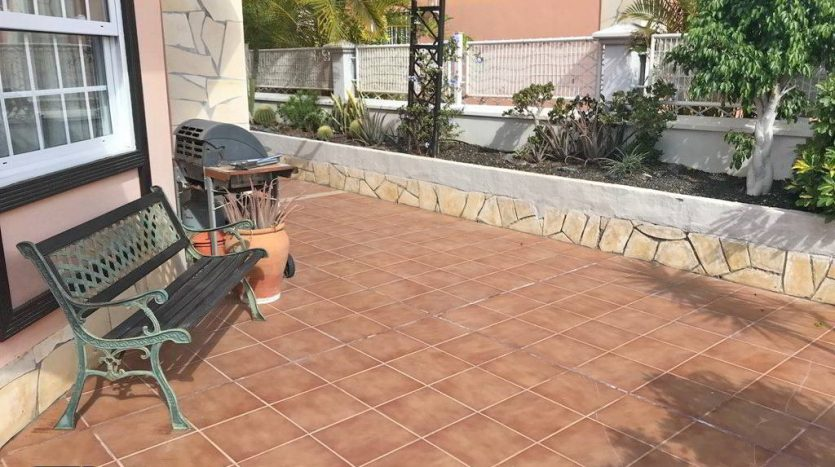 Townhouse in the complex La Capitana in El Galeon, Adeje, Tenerife