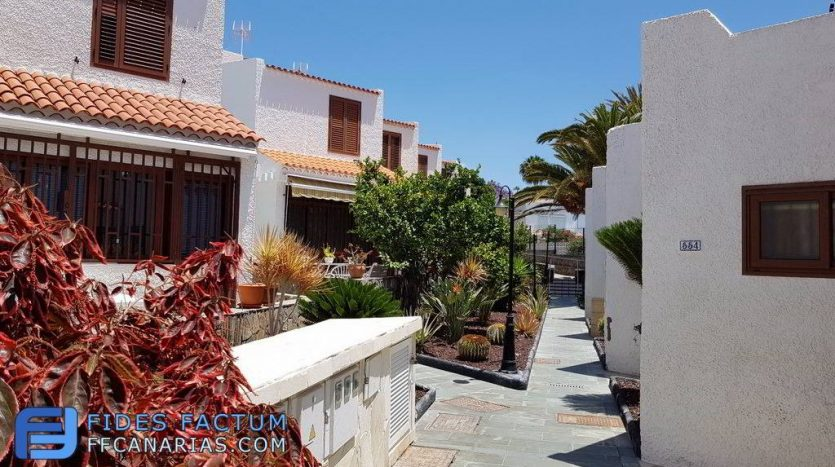 Duplex in the complex Virginia in Playa de Las Americas, Arona, Tenerife