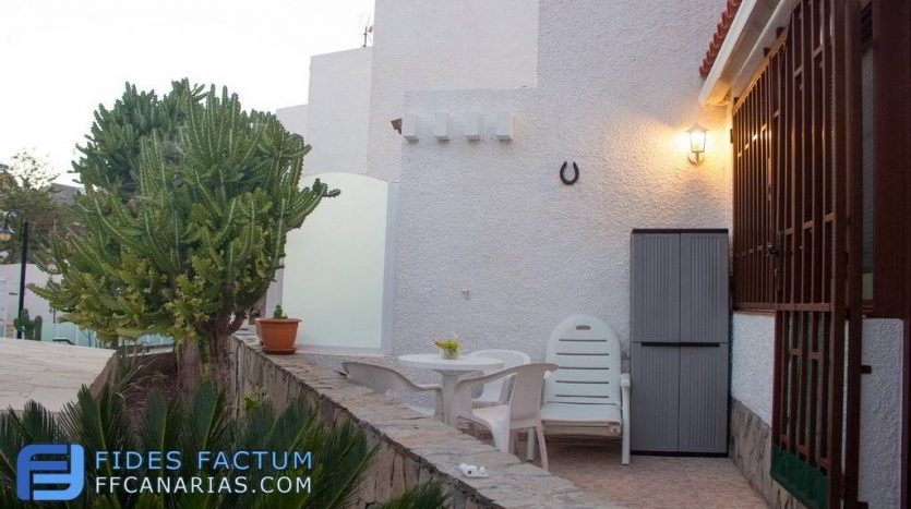 Duplex in the complex Virginia in Playa de Las Americas, Arona, Tenerife