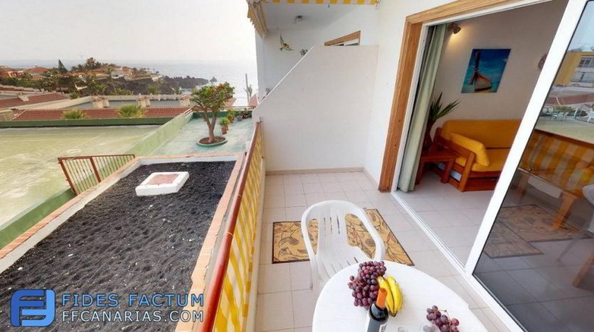 Apartment in the complex Tagara in Playa de la Arena, Santiago del Teide, Tenerife